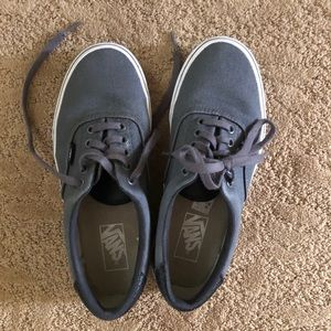 Vans Authentic Gray Sneakers